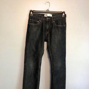 Levi's 511 slim med wash boys size 16